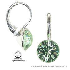 Orecchini con Swarovski Elements, colore: crisolite, Verde