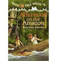 Afternoon on the Amazon (The magic tree house), Mary Pope Osborne, Used; Good Bo