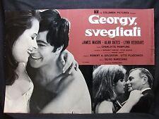 FOTOBUSTA CINEMA - GEORGY SVEGLIATI - JAMES MASON - 1966 - COMMEDIA