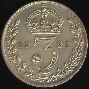 1921 George V Silver Threepence Coin | British Coins | Pennies2Pounds