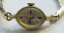 VINTAGE  OMEGA 10 KARAT GOLD FILLED LADIES WATCH ,1975 , AUTOMATIC