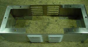 "Stainless Steel enclosure leg kit adjustable width 24"" x 30"" x 36"" x 6"" tall"