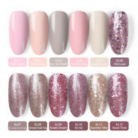 BORN PRETTY Glitter Soak Off UV Gel Polish  Rose Gold Nail Art Gel Varnish