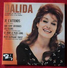 Dalida, je l'attends, CD single 4 titres