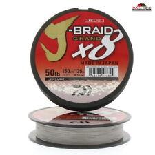 (2) Braided Fishing Line 50lb Test 150yds Gray ~ New