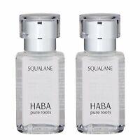 2 PCS HABA Pure Roots Squalane 30ml Serum Radiant Renew Firm Smooth Line