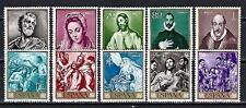 Espagne 1961 Yvert n° 1007 à 1016 Journée du timbre neuf ** 1er choix