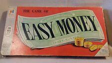 """Easy Money"" Board Game by Milton Bradley 1956 Rare"