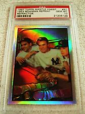 MICKEY MANTLE 1997 TOPPS FINEST REFRACTOR PARALLEL #21 1953 BOWMAN PSA 10 POP 1