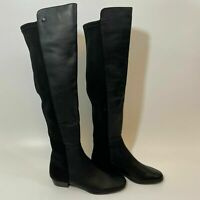 Vince Camuto Women's KARITA Over the Knee Boots Black Leather Size 5.5 BS6