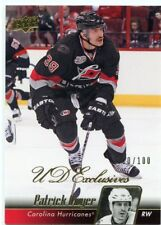 10/11 UPPER DECK UD EXCLUSIVES #284 PATRICK DWYER 010/100 HURRICANES *46838
