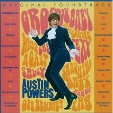 OST/AUSTIN POWERS CD SOUNDTRACK 17 TRACKS NEU