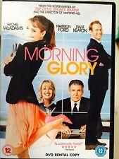Rachel McAdams Harrison Ford Diane Keaton MORNING GLORY ~ 2011 Comedia GB DVD