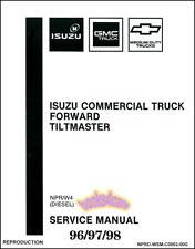 car truck repair manuals literature for isuzu for sale ebay rh ebay com 2013 GMC W4500 2004 GMC W4500