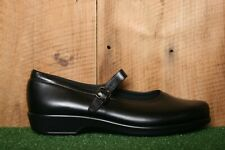 SAS 'Maria' Black Leather Mary Jane Comfort Shoes Women's Sz. 11.5 M