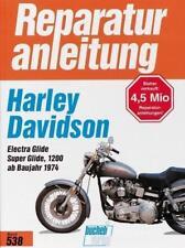 Reparaturanleitung Harley Davidson Electra Glide Super Glide 1200 ab 1974 @NEU@