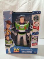Disney Pixar Toy Story BUZZ LIGHTYEAR Deluxe Space Ranger Talking Action Figure