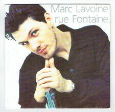 """MARC LAVOINE Vinyle 45 tours 7"""" RUE FONTAINE - AVREP Polygram 8757727  F Reduit"""