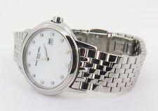 .Raymond Weil Tradition 5966 Mother Pearl Steel Quartz Ladies Watch Box Docs