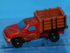 MICRO MACHINES DODGE Ram Stake Bed Truck AWESOME RARE LOOSE #4 ULTRA RARE EUROPE