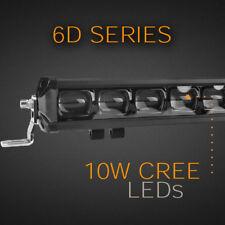 "LED Light Bar - 52"" 240W 6D SINGLE ROW with 10W CREE LED's"