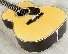 Martin Standard Series OM‑28 Orchestra Model Acoustic Guitar Natural + Case
