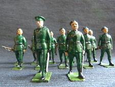 12 soldats de plomb irlandais - Irish army.