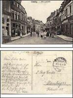 1916 Feldpost 1. Weltkrieg World War Grande Guerre CHAUNY Kinder in Königstrasse