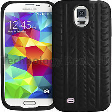 Soft Silicone Case Tyre Tread Gel Rubber Grip Cover For Samsung Galaxy Phones