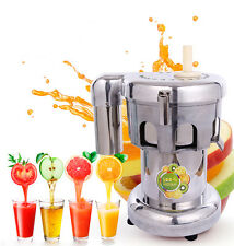 110V Stainless Fruit and Vegetable Juicer Extractor Commercial Juicer