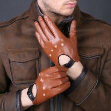 Unisex Echt Weiche Lederhandschuhe Autofahrer-Handschuhe Sporthandschuhe