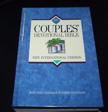 Couples Bible Marriage Building Devotions Hardback Jesus Red Letter Words --BBX