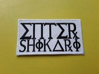 Enter Shikari Patch Embroidered Iron On Or Sew On Badge