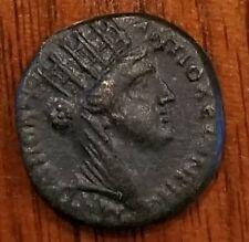 Syria-Antioch Bronze AE 17  Star of Bethlehem Coin 128 AD
