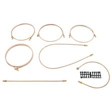 r5 1x Automec GB5022 Copper Brake Pipe Set MGB Chrome Bar 1962-74