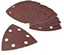93mm Triangle - Detail Sander Sheets - Sanding Pads - Velcro - Mixed Pack