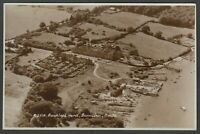 Postcard Beaulieu nr Lymington New Forest Hampshire aerial view Bucklers Hard RP