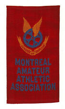 MONTREAL AMATEUR ATHLETIC ASSOCIATION RED 1911 SC12 CANADIAN MISCELLANY HOCKEY