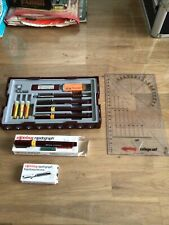 More details for rotring used rapidograph college pen setetc