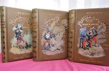 FRANÇAIS & ALLEMANDS Guerre de 1870-1871  Dick de Lonlay 3 vols. illustrés
