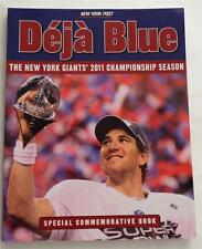 NEW Deja Blue The New York Giants' 2011 Championship Special Commemorative Book