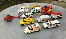 New ListingHot Wheels, Code 3, & Matchbox Cars - Fire Trucks, Ambulance & First Responders