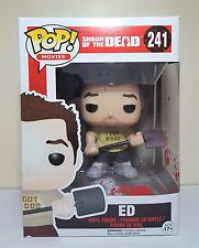 Funko Pop Ed Bloody # 241 Shaun of the Dead Vinyl Figure Brand New