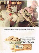 Publicité Advertising 1981 Les Biscuits Kipferl par Balhsen