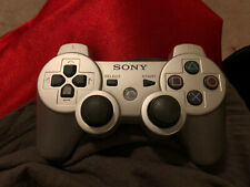 Sony PS3 DualShock 3 Sixaxis Controller - OEM Original  Silver. Tested. L@@k