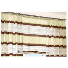 STORE ROULANT 100x170 déco fenêtre pliable plissée vert marron