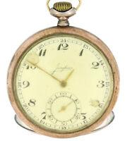 Antike/Alte Junghans Taschenuhr aus 800er Silber, Sammlerstück für Bastler #007