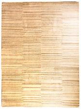 Nature Tapis Gabbeh 349 x 259cm pièce unique noué à la main laine 3911