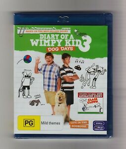 Diary Of A Wimpy Kid 3: Dog Days Blu-ray - Brand New & Sealed
