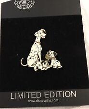 Disney 101 Dalmatians Perdita patch and pup Pin Le 250